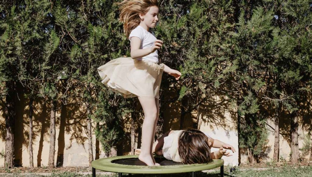 Is trampoline bad for toddlers