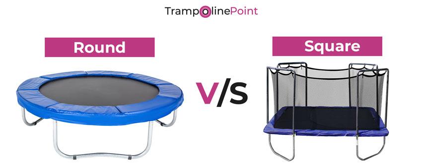round vs square trampoline