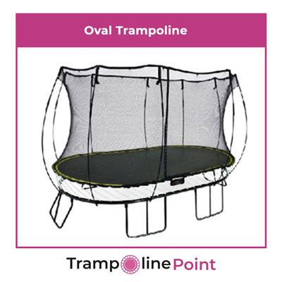 Oval trampoline