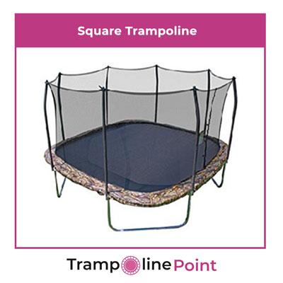 square trampoline