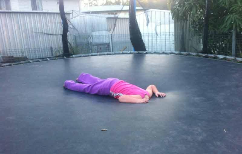 patch a trampoline